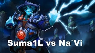 Suma1L Storm Spirit super plays EG vs Na`Vi