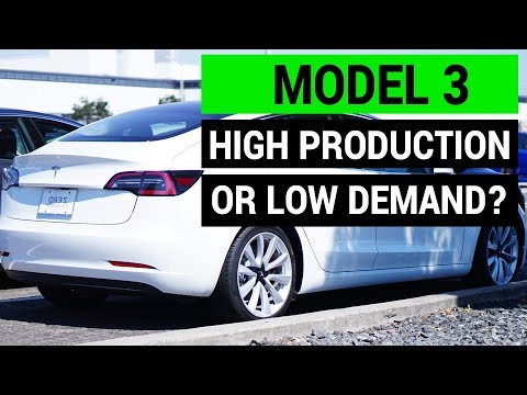 Tesla Model 3: Low Demand or High Production?