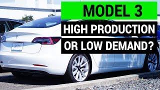 Tesla Model 3: Low Demand or High Production?