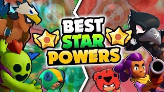BEST & WORST BRAWLER STAR POWERS IN BRAWL STARS! EVERY STAR POWER RANKED!