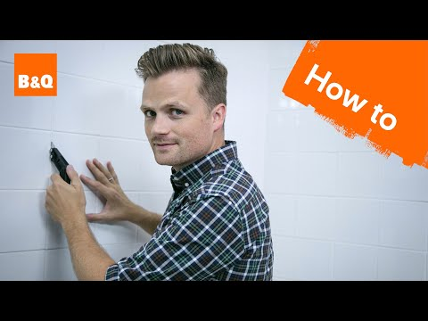 How to re-grout tiles