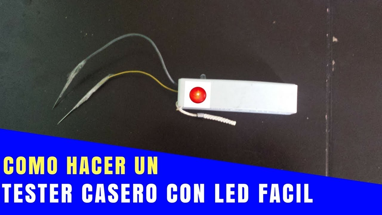 Tester Electrico Casero