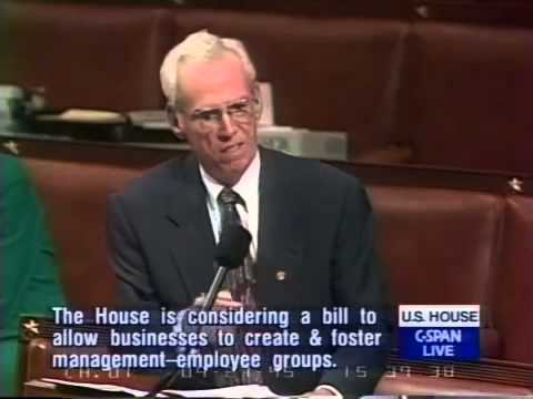 Bernie Sanders: Unions and Trickle Down Tax Breaks (9/27/1995)