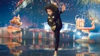 Talented Gymnast