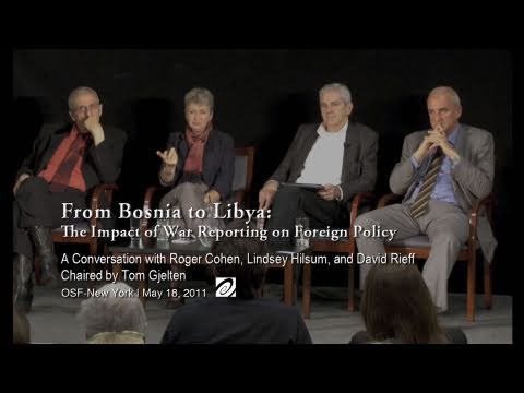 From Bosnia to Libya: The Impact of War Reporting on Foreign Policy