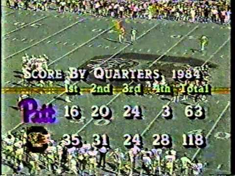 1984 South Carolina Vs Pitt 2nd Qtr