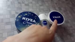 Обзор крема Nivea, дезодорант Nivea