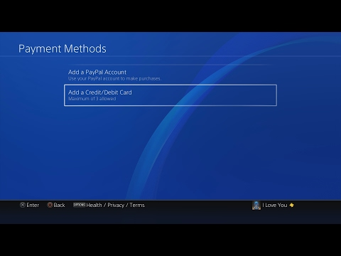 how-to-add/remove-credit-card/paypal-on-ps4
