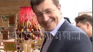"""В Семенове в эти выходные прошел фестиваль """"Золотая хохлома"""""""