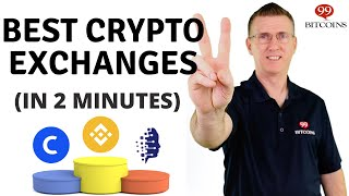 Best Cryptocurrency Exchanges of 2020 (in 2 minutes)