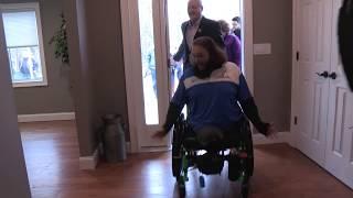 Clark Cavalier Walks Into New Home - T2T Smart Home Program