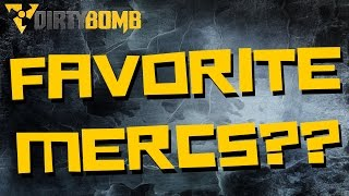 Dirty Bomb | TOP 3 FAVORITE MERCS! (Dirty Bomb Gameplay!)