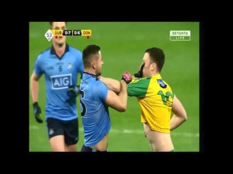 Dublin v Donegal James McCarthy Incident