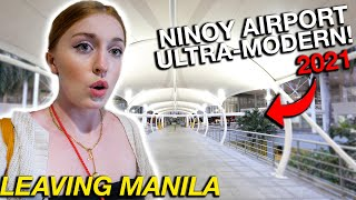 GOODBYE MANILA! Reacting to NAIA Airport Rehabilitation (Big 2021 Upgrade)