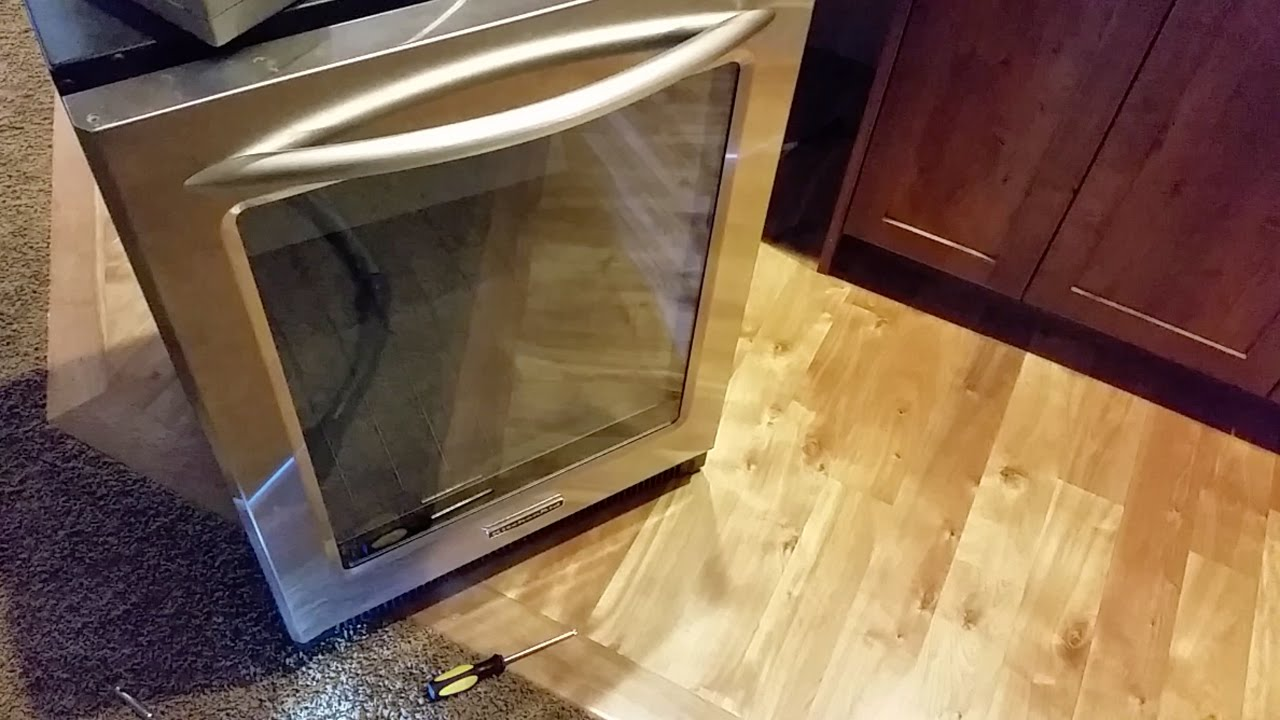 Replacing Kitchenaid Wine Refrigerator Thermostat Youtube