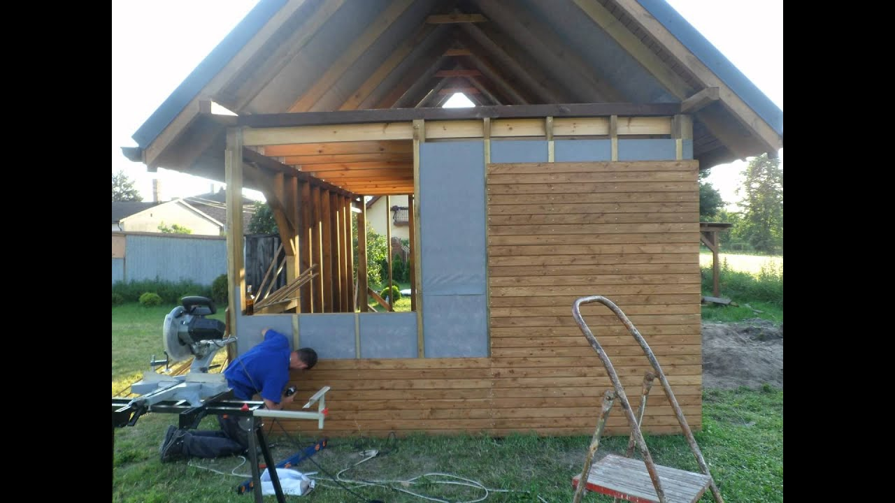 Domek Z Drewna 25m2