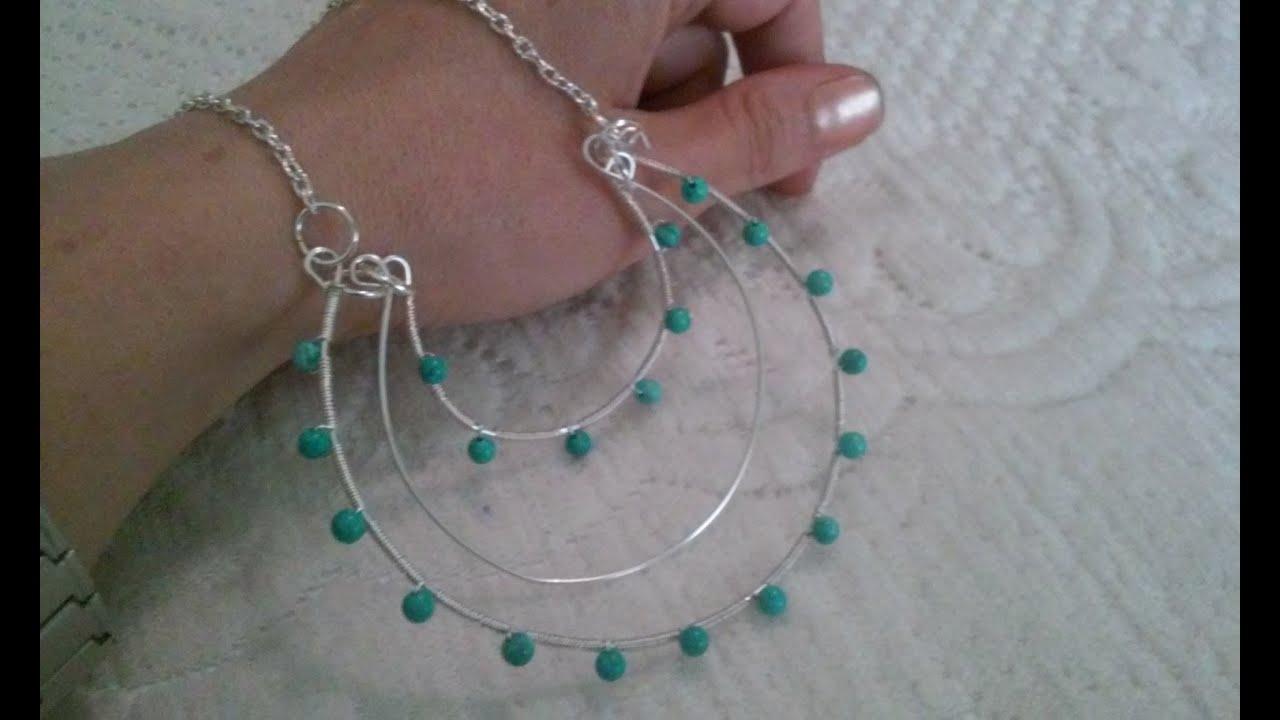 b71b3ade373d collares artesanales collares de bisuteria de moda cursos de bisuteria  alambrismo bisuteria