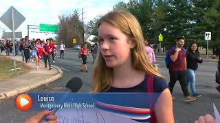 MCPS Students Head to U.S. Capitol to Protest Gun Laws