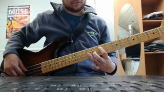 System of a down - Lonely day bass cover with tabs