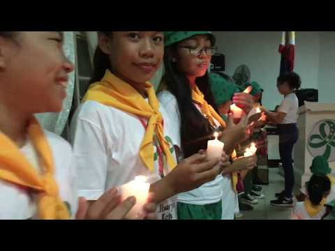 Candle March for 50th year of Asia Pacific Region