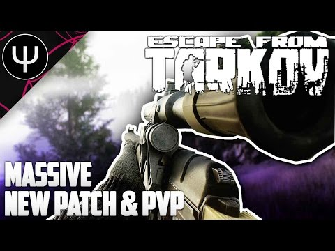 Escape From Tarkov — Massive NEW Patch and AS VAL PvP Carnage Gameplay!