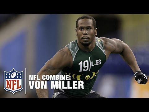 Von Miller (LB, Texas A&M) | 2011 NFL Combine Highlights