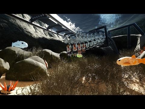 20,000 Leagues Under the Sea Ride (Dark+Coaster) - Planet Coaster
