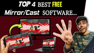 TOP 4 Best FREE Software For Mirroring |Mirror/Cast Android Screen to PC/Lap. in 2020 screenshot 2