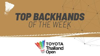 TOYOTA Thailand Open | Top Backhands of the Week
