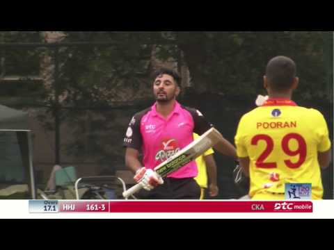 Nizakat Khan hits century in the DTC Hong Kong T20 Blitz