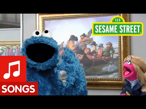 Sesame Street: Me Love Cookie Art (song)