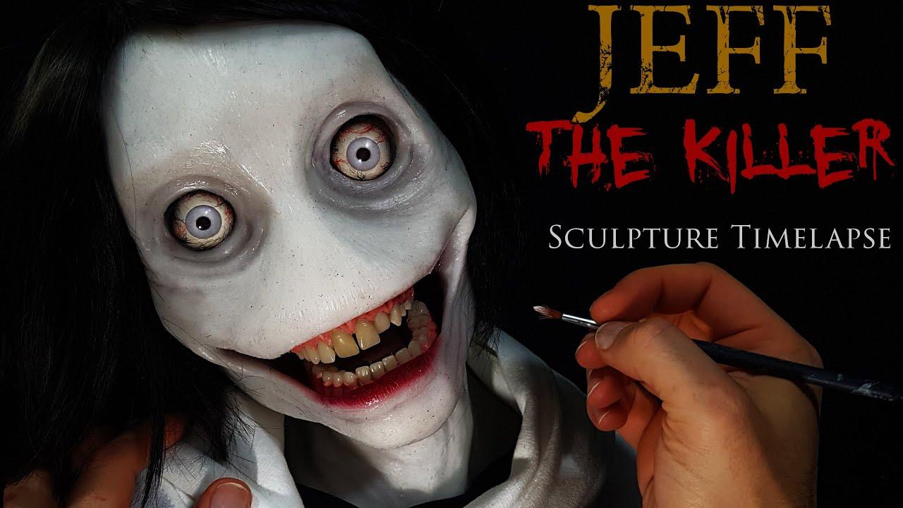 Jeff The Killer Sculpture Timelapse - Creepypasta Halloween Special