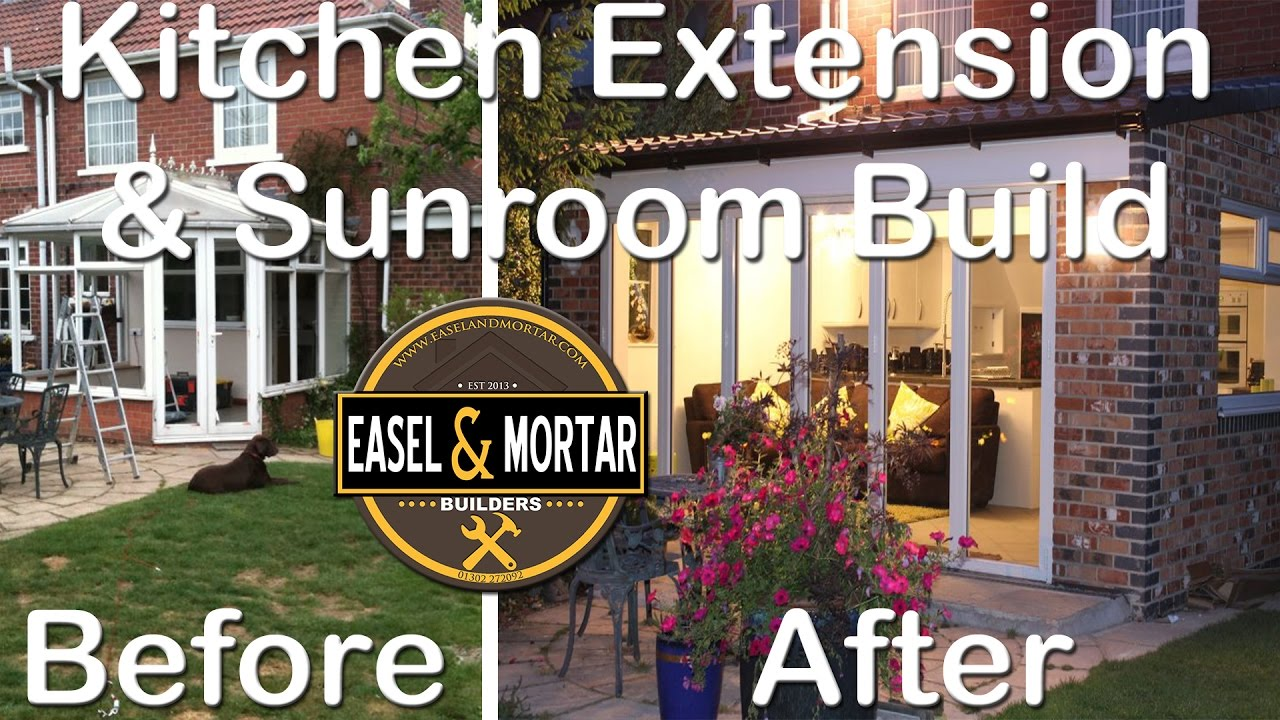 Extension Kitchen Kitchen Extension Sunroom By Easel Mortar Youtube