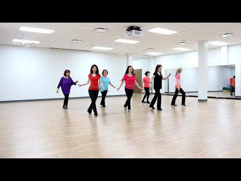 React - Line Dance (Dance & Teach In English & 中文)