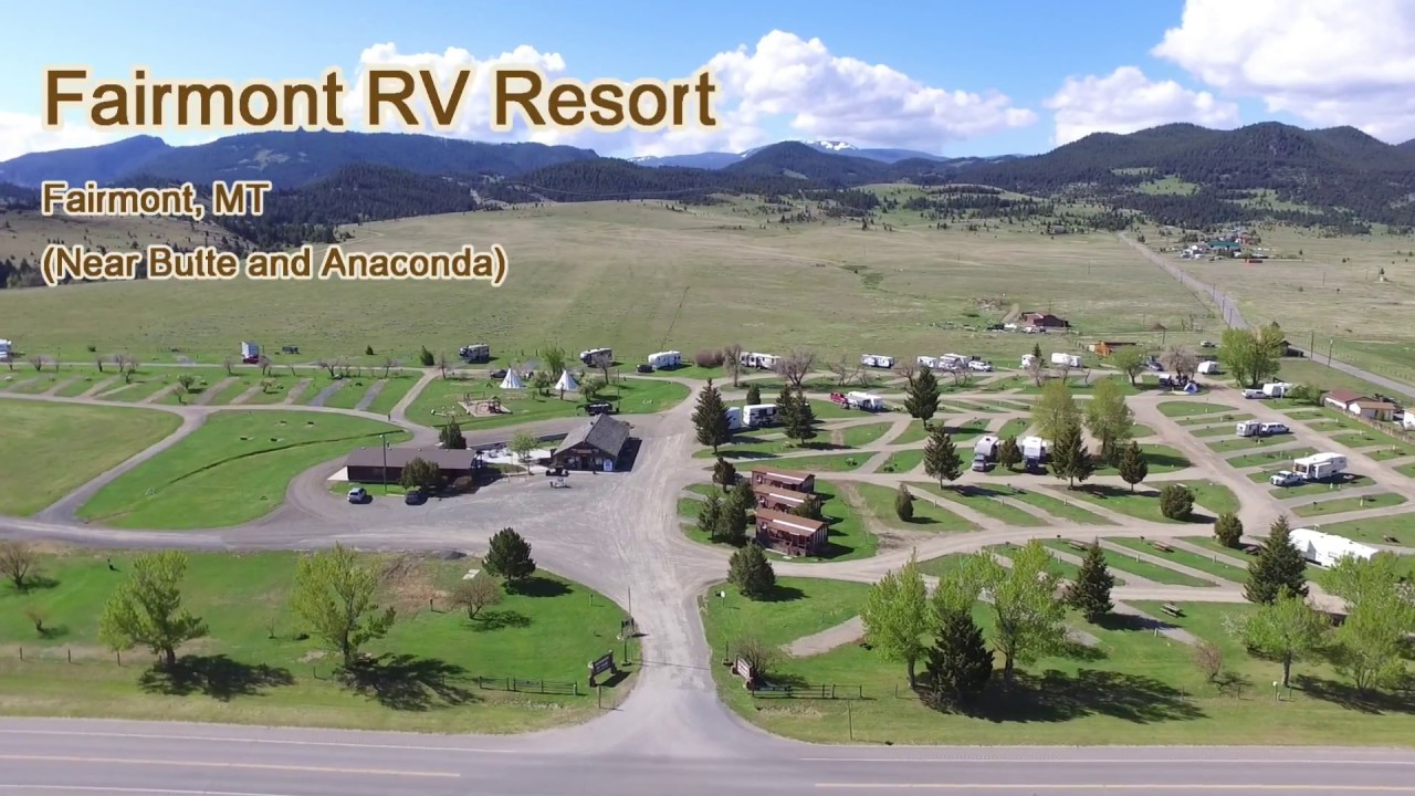 Fairmont RV Resort - Anaconda, Montana
