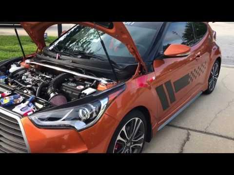 Hyundai Veloster Spark Plugs replaced