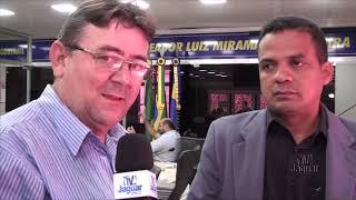 João Paulo Moreira requer financiamento para a saúde paralelo ao financiamento para infraestrutura d