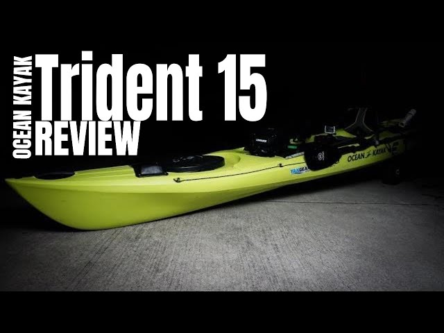 2020 Ocean Kayak Trident 15 Review | #10