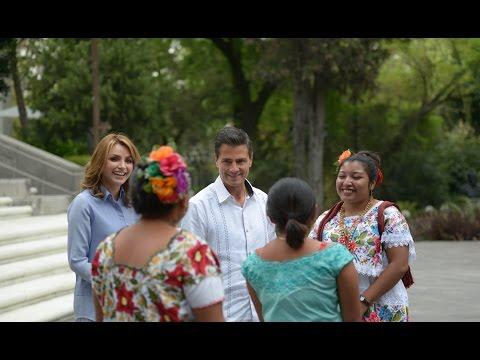 Fátima en Los Pinos