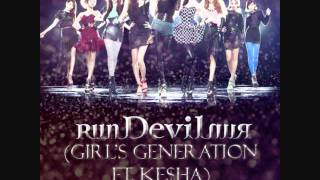 SNSD ft Ke$ha - Run Devil Run (Tyler Leitch remix)