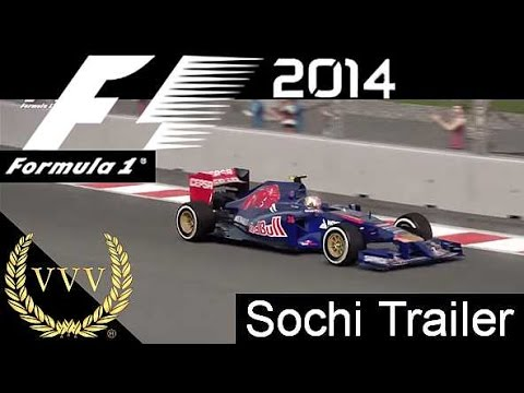 F1 2014 - Sochi Hot Lap Gameplay Trailer