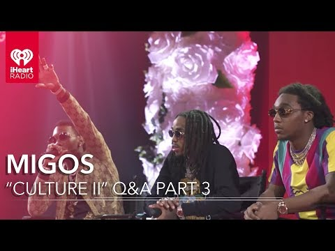 "Migos ""Culture II"" Part 3 Q&A at the iHeartRadio Theater"