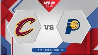 Indiana Pacers vs Cleveland Cavaliers Game 5: April 25, 2018