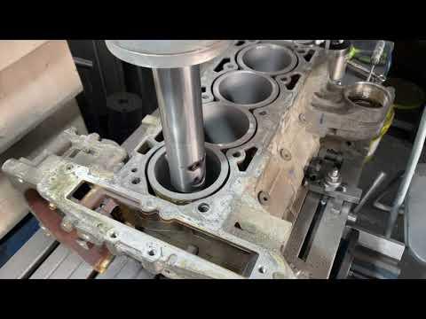 Запчасти в работе: гильзовка блока двигателя 2.4л бензин A24XE от Opel и Chevrolet