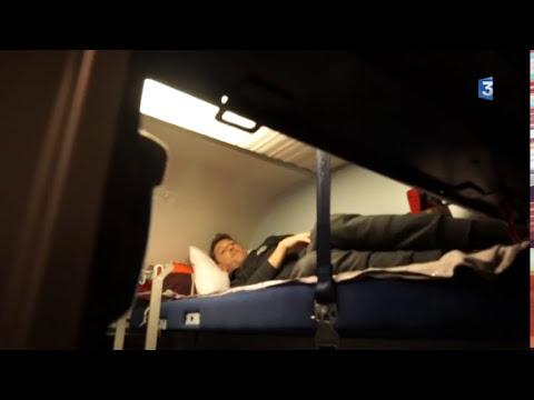 Voyagez à bord du dernier Train Bleu, Nice-Paris de nuit
