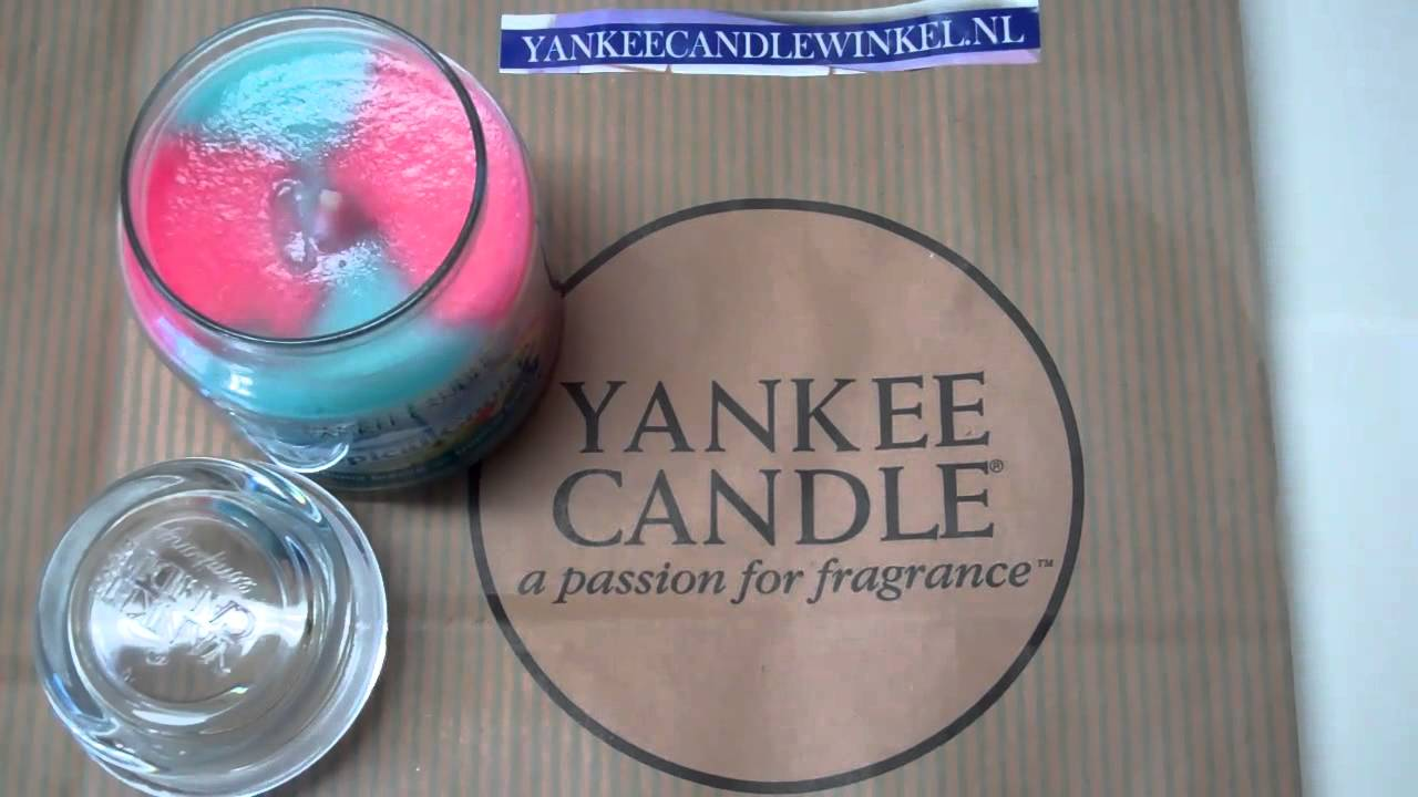 Swirl Candle Tropical Cooler - yankee candle -1210328 - YouTube