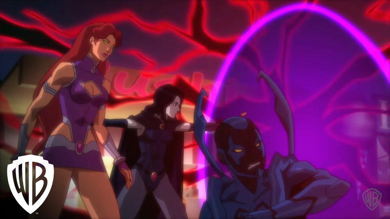 Download Justice League vs. Teen Titans   Titans Battle Demons   Warner Bros. Entertainment