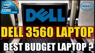 Dell Latitude 3560 Laptop | Core i3 | UNBOXING & OVERVIEW |