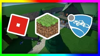 Minecraft | Rocket League | Roblox [Let's Play] (12 hour Stream)