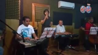 بروفات حفل تاميم قناة السويس.. فاطمة محمد علي بالاوبرا